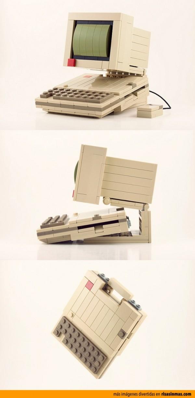 PC hecho con LEGO