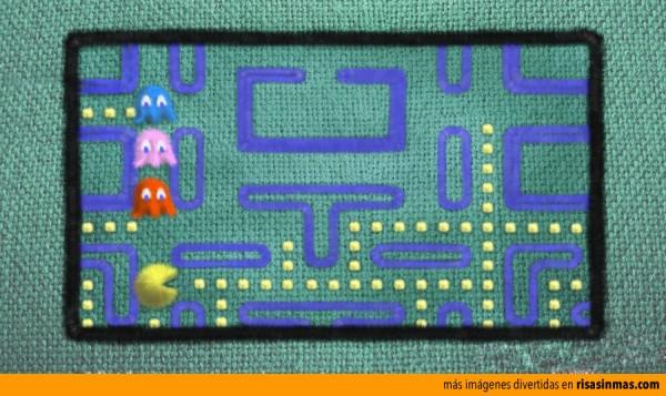 Pac-Man hecho con punto