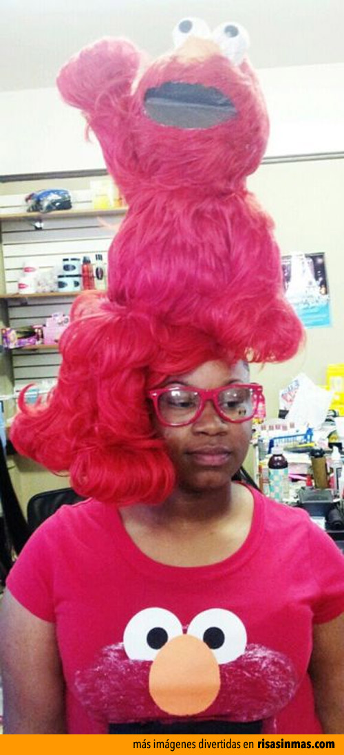 Peinados espantosos, Elmo