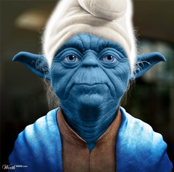 Pitufo Yoda