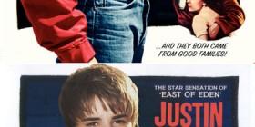Pósters de cine famosos con Justin Bieber: Rebelde sin causa