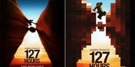 Pósters de cine hechos con LEGO: 127 Horas