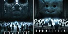 Pósters de cine hechos con LEGO: Prometheus