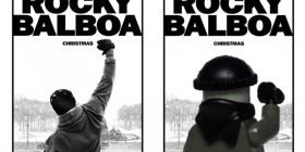 Pósters de cine hechos con LEGO: Rocky Balboa
