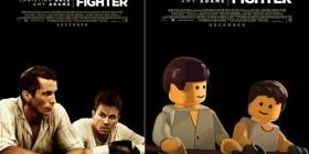 Pósters de cine hechos con LEGO: The Fighter