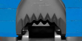 Pósters de cine hechos con LEGO: Tiburón
