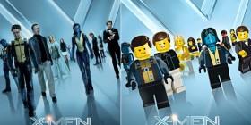 Pósters de cine hechos con LEGO: X-Men: Primera generación
