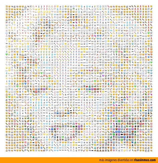Retrato de Marilyn Monroe hecho con iconos