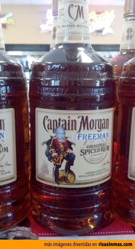 Ron Capitán Morgan Freeman