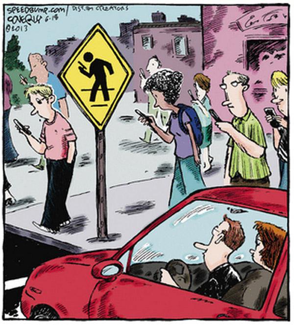 Señal de tráfico WhatsApp