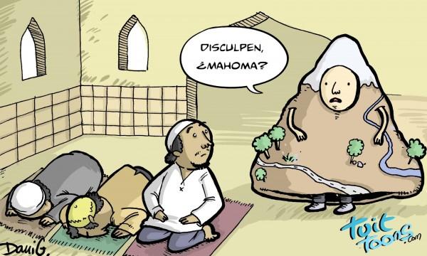 Si Mahoma no va a la montaña...