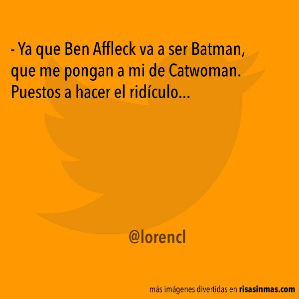 Sigue la polémica sobre Ben Affleck y su papel de Batman