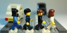 The Beatles (Abbey Road) versión LEGO