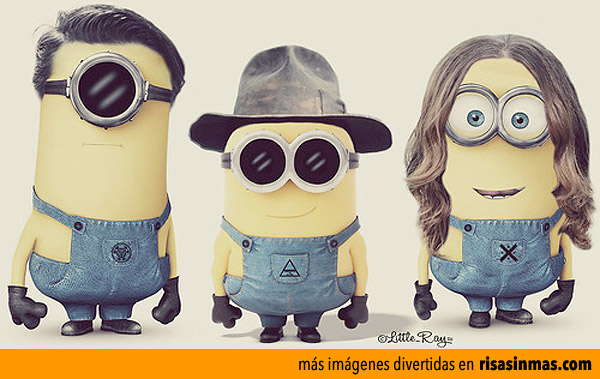 Thirty Seconds to Mars versión Minions