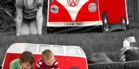Tienda de campaña modelo furgoneta Volkswagen