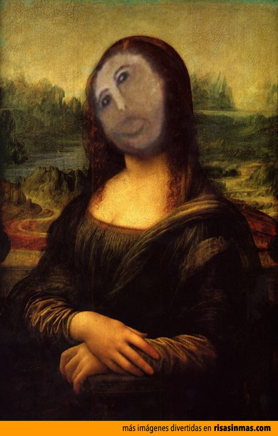 Versiones divertidas de La Mona Lisa: Ecce Homo