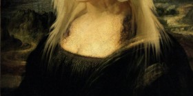 Versiones divertidas de La Mona Lisa: Lady Gaga