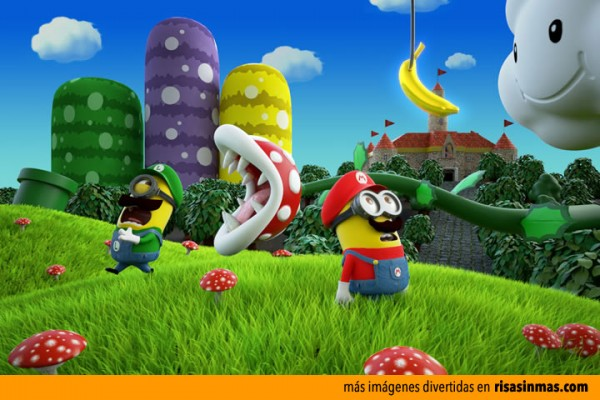 Videojuego Mario Bros protagonizado por Minions