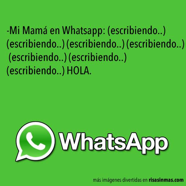 WhatsApp y las madres