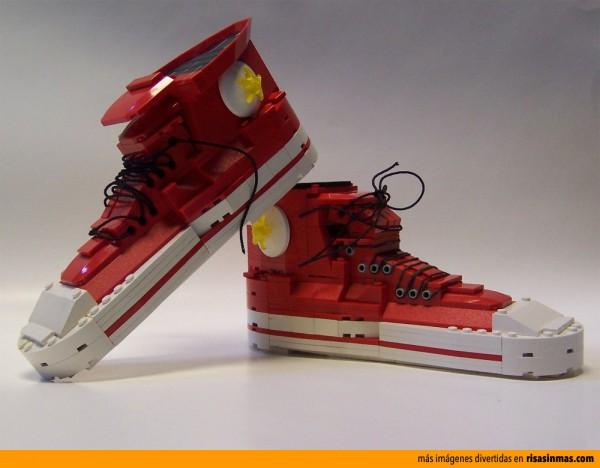 Zapatillas Converse All Stars Chuck Taylor hechas con LEGO