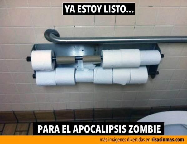 Listo para el apocalipsis zombie