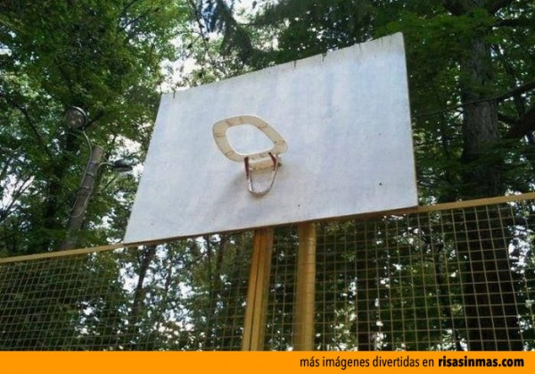 Canasta de baloncesto original