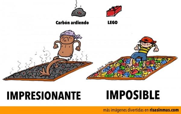 Carbon vs LEGO