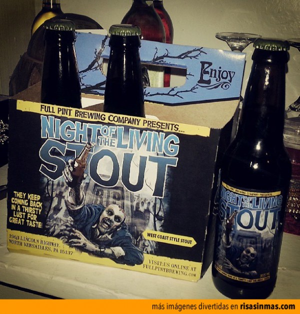 La cerveza de The Walking Dead