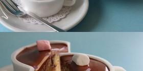 Cupcakes originales: taza de chocolate
