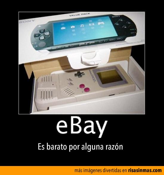 eBay, es barato por algo