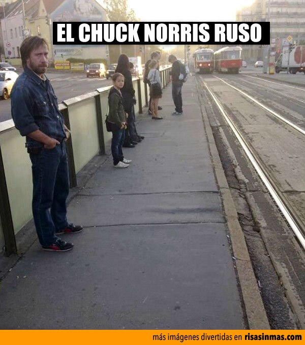El Chuck Norris ruso