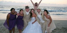 Fotobomba en la boda