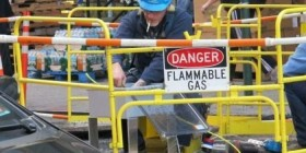 PELIGRO: gas inflamable