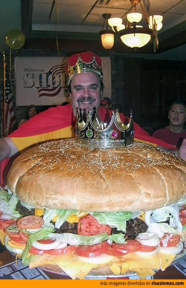 La reina madre de todas las hamburguesas