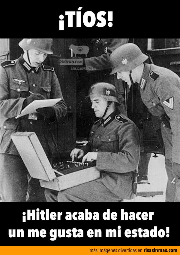 Hitler y Facebook