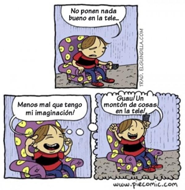 Tengo imaginación