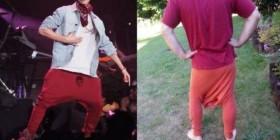 Cómo hacerse los pantalones de Justin Bieber