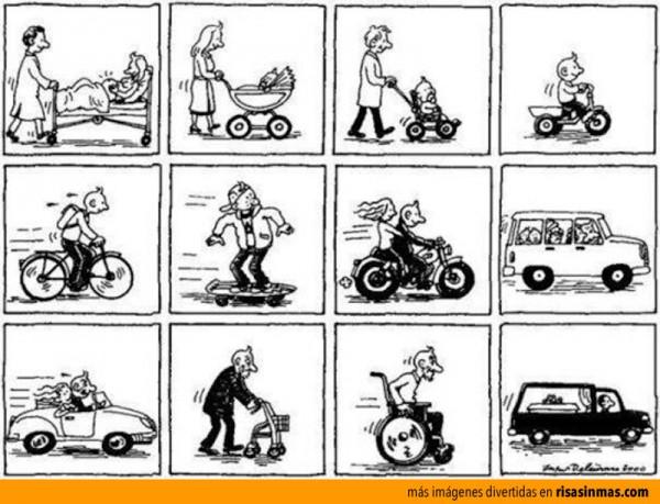 La vida sobre ruedas