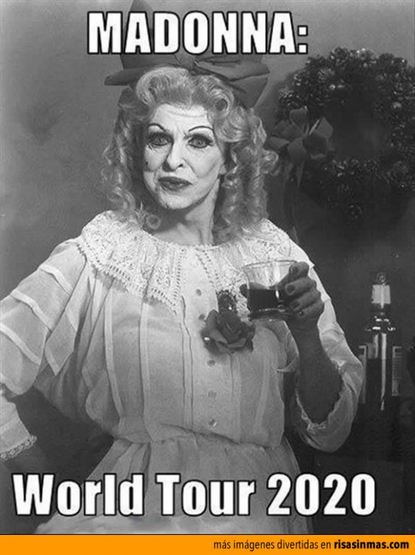 Madonna World Tour 2020