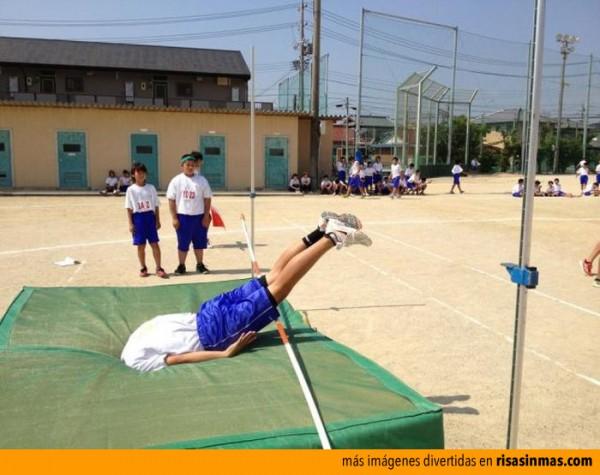 Nuevo deporte: lanzamiento de saltador
