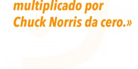 Número multiplicado por Chuck Norris