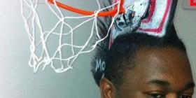 Peinados originales: Canasta de Baloncesto