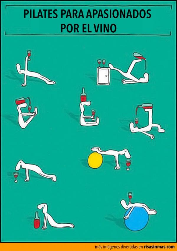 Pilates para apasionados por el vino