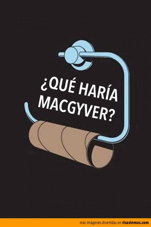 ¿Qué haría MacGyver?