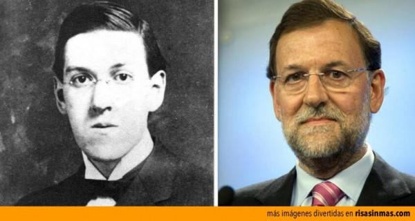 Parecidos razonables: Rajoy y Lovecraft