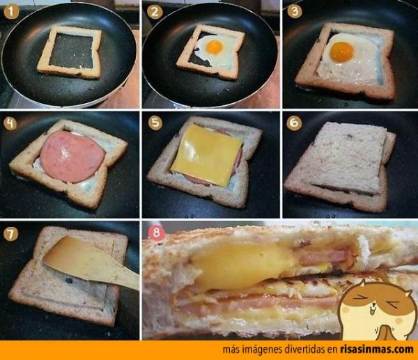 Sandwich bajo en calorías