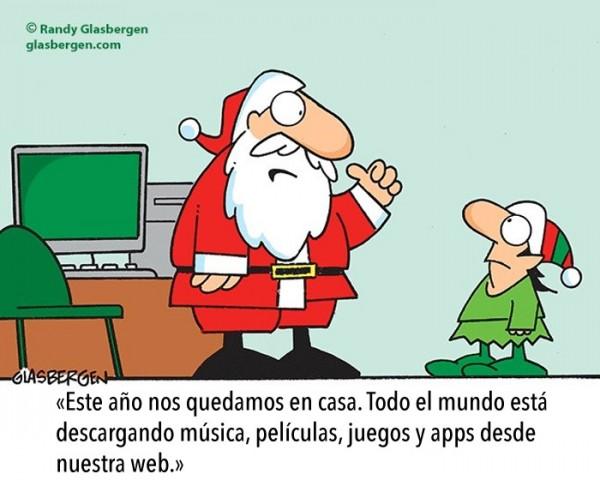 Santa Claus se queda en casa