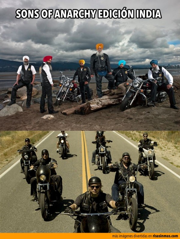 Sons of anarchy edición India