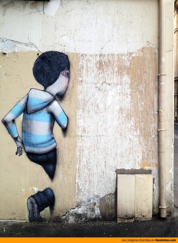 Arte sobre una pared cualquiera