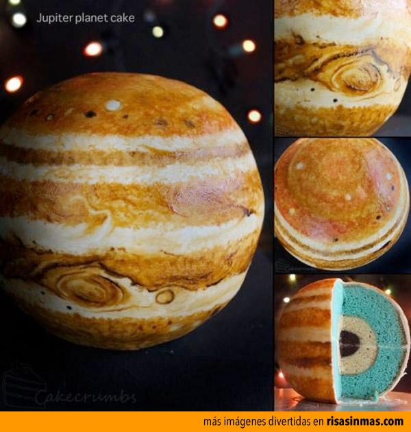 Tartas originales: Júpiter